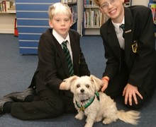 Ty with year 9s