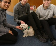 Ty with sixth formers 2