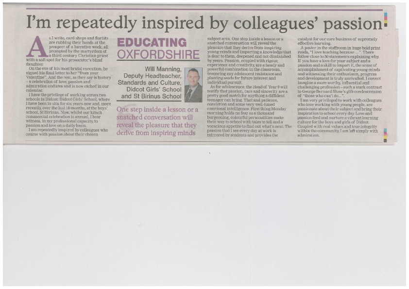 Educating oxfordshire article mr manning feb 2019